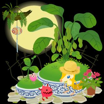 枝豆の盆栽.PNG